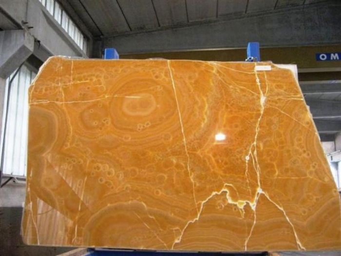 Bedrosians Orange Onyx : Passion for stone
